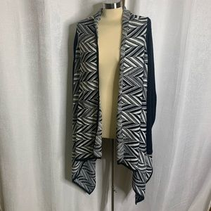 Torrid open waterfall cardigan